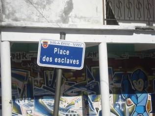 """""""Slave Square.""""  Basse Terre, Guadeloupe (2013)."""