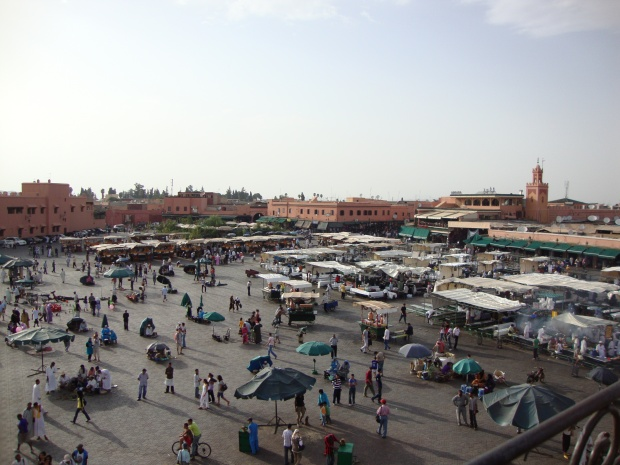 Place Jemaa el F'naa, Marrackech