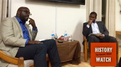 David Austin in Conversation with Adrian Harewood. February 2nd, 2016. Black History Month Event, Carleton University